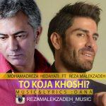 Reza Malekzadeh To Koja Khoshi رضا ملک زاده 150x150 دانلود آهنگ رضا ملک زاده و محمدرضا هدایتی تو کجا خوشی