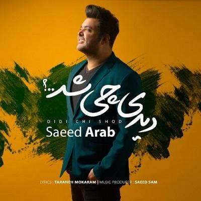 Saeed Arab Didi Chi Shod سعید عرب دیدی چی شد دانلود آهنگ جدید سعید عرب دیدی چی شد