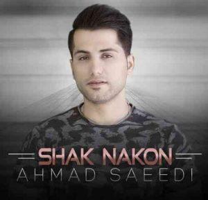 Ahmad Saeedi Shak Nakon 300x288 دانلود آهنگ احمد سعیدی شک نکن