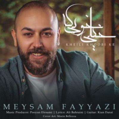 Meysam Fayyazi Kheili Khoobi Ke میثم فیاضی خیلی خوبه که دانلود آهنگ میثم فیاضی خیلی خوبه که