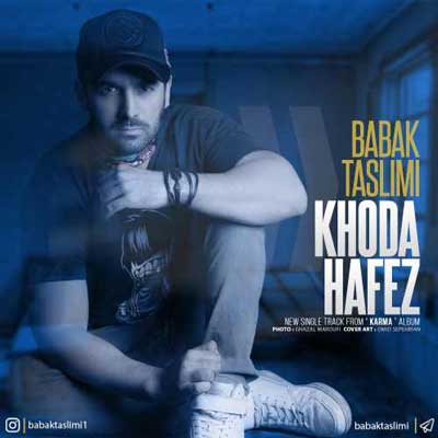 Babak Taslimi Khodahafez بابک تسلیمی خداحافظ دانلود آهنگ جدید بابک تسلیمی خداحافظ