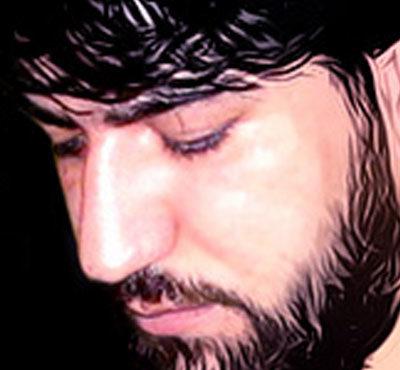 سید جواد ذاکر 400x370 دانلود مداحی جواد ذاکر یا حسین غریب مادر