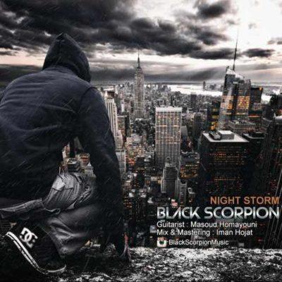 Black Scorpion Night Storm عقرب سیاه طوفان شب 400x400 دانلود آهنگ بی کلام جدید عقرب سیاه طوفان شب