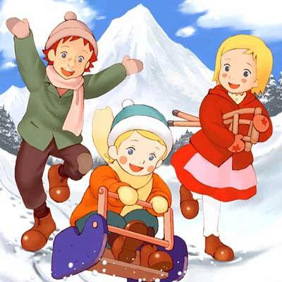 دانلود آهنگ تیتراژ کارتون بچه های کوه آلپ