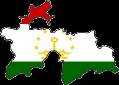 Tajikistan Flag Map National Anthem Tajik  400x287 دانلود سرود ملی تاجیکستان
