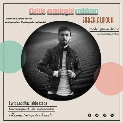 دانلود آهنگ جدید صابر علیپور دلیل منطقی میخوام