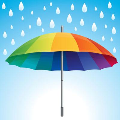 چتر باران بارون